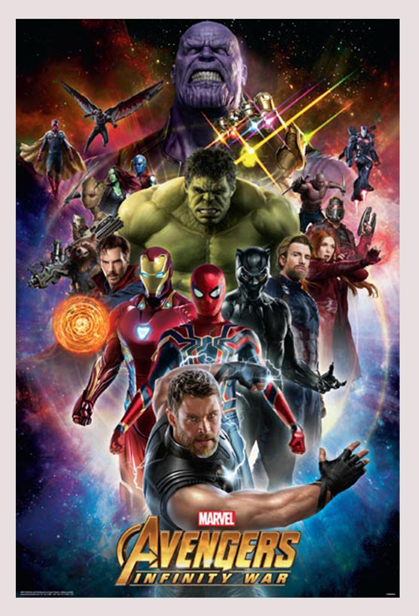avengers  infinity war  space poster  image decor